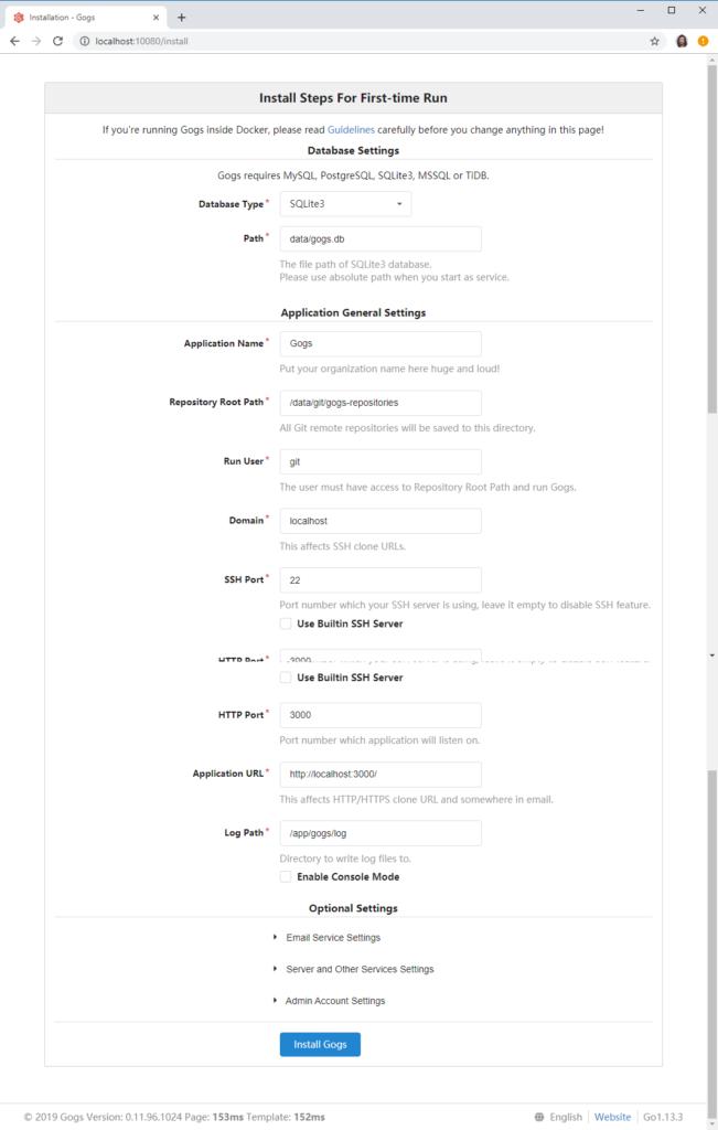 gogs-settings